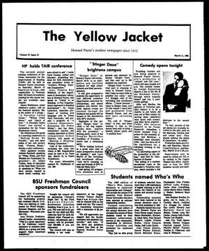 Primary view of object titled 'The Yellow Jacket (Brownwood, Tex.), Vol. 75, No. 19, Ed. 1, Friday, March 11, 1988'.