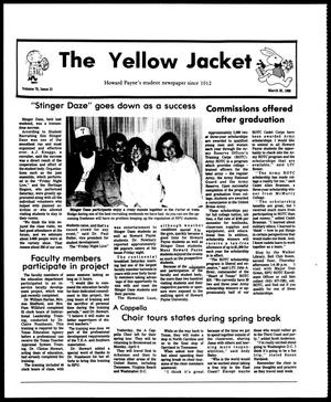 Primary view of object titled 'The Yellow Jacket (Brownwood, Tex.), Vol. 75, No. 21, Ed. 1, Friday, March 25, 1988'.