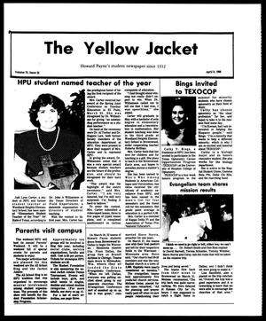 Primary view of object titled 'The Yellow Jacket (Brownwood, Tex.), Vol. 75, No. 22, Ed. 1, Friday, April 8, 1988'.