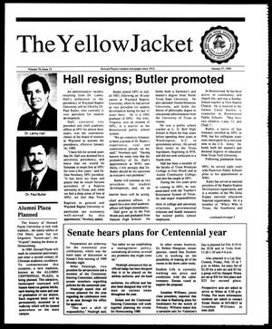 Primary view of object titled 'The Yellow Jacket (Brownwood, Tex.), Vol. 76, No. 12, Ed. 1, Friday, January 27, 1989'.