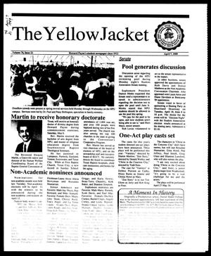 Primary view of object titled 'The Yellow Jacket (Brownwood, Tex.), Vol. 76, No. 21, Ed. 1, Friday, April 7, 1989'.