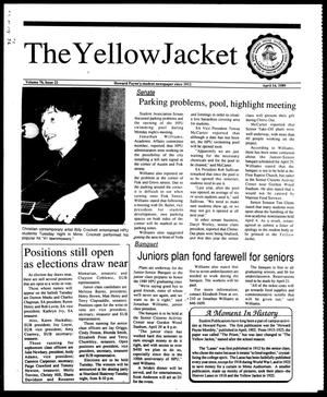 Primary view of object titled 'The Yellow Jacket (Brownwood, Tex.), Vol. 76, No. 22, Ed. 1, Friday, April 14, 1989'.