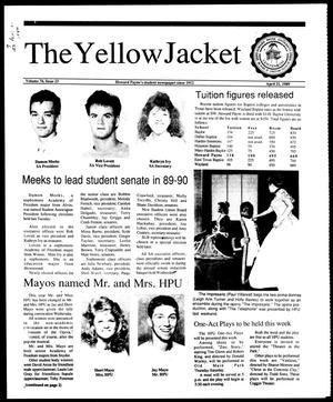 Primary view of object titled 'The Yellow Jacket (Brownwood, Tex.), Vol. 76, No. 23, Ed. 1, Friday, April 21, 1989'.