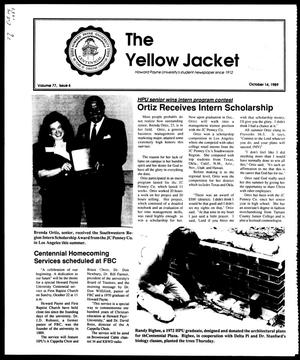 Primary view of object titled 'The Yellow Jacket (Brownwood, Tex.), Vol. 77, No. 6, Ed. 1, Saturday, October 14, 1989'.