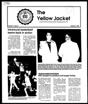 Primary view of object titled 'The Yellow Jacket (Brownwood, Tex.), Vol. 77, No. 14, Ed. 1, Friday, February 2, 1990'.
