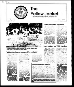 Primary view of object titled 'The Yellow Jacket (Brownwood, Tex.), Vol. 77, No. 15, Ed. 1, Friday, February 9, 1990'.