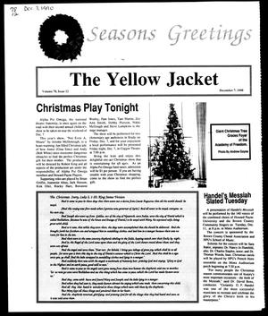 Primary view of object titled 'The Yellow Jacket (Brownwood, Tex.), Vol. 78, No. 12, Ed. 1, Friday, December 7, 1990'.
