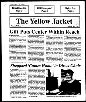 Primary view of object titled 'The Yellow Jacket (Brownwood, Tex.), Vol. 79, No. 7, Ed. 1, Tuesday, October 29, 1991'.