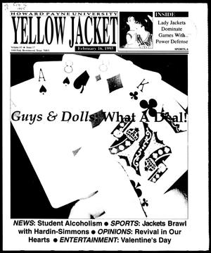 Primary view of object titled 'Howard Payne University Yellow Jacket (Brownwood, Tex.), Vol. 83, No. 17, Ed. 1, Thursday, February 16, 1995'.