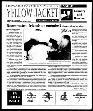 Primary view of object titled 'Howard Payne University Yellow Jacket (Brownwood, Tex.), Vol. 87, No. 9, Ed. 1, Thursday, November 21, 1996'.