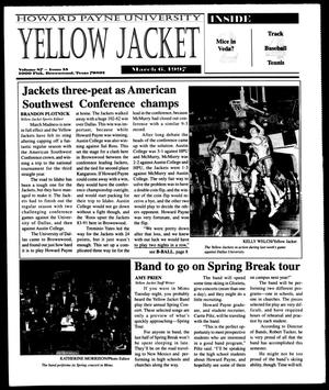 Primary view of object titled 'Howard Payne University Yellow Jacket (Brownwood, Tex.), Vol. 87, No. 15, Ed. 1, Thursday, March 6, 1997'.