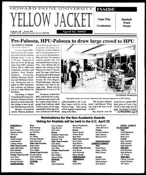 Primary view of object titled 'Howard Payne University Yellow Jacket (Brownwood, Tex.), Vol. 87, No. 19, Ed. 1, Thursday, April 17, 1997'.