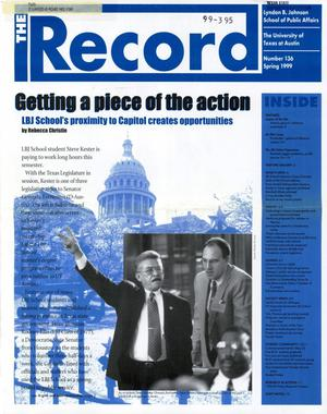 Primary view of The Record, Number 136, Spring 1999