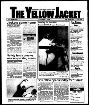 Primary view of object titled 'The Yellow Jacket (Brownwood, Tex.), Vol. 89, No. 6, Ed. 1, Thursday, October 8, 1998'.
