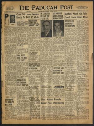 The Paducah Post (Paducah, Tex.), Vol. 46, No. 44, Ed. 1 Thursday, January 28, 1954