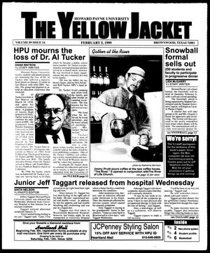 Primary view of object titled 'The Yellow Jacket (Brownwood, Tex.), Vol. 89, No. 14, Ed. 1, Friday, February 5, 1999'.