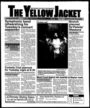 Primary view of object titled 'The Yellow Jacket (Brownwood, Tex.), Vol. 89, No. 18, Ed. 1, Thursday, March 4, 1999'.