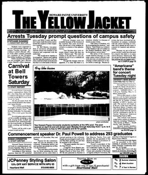 Primary view of object titled 'The Yellow Jacket (Brownwood, Tex.), Vol. 89, No. 24, Ed. 1, Friday, April 30, 1999'.