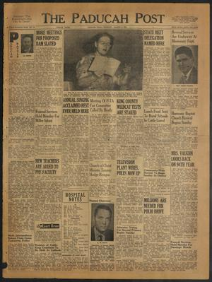 The Paducah Post (Paducah, Tex.), Vol. 47, No. 19, Ed. 1 Thursday, August 5, 1954