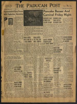 The Paducah Post (Paducah, Tex.), Vol. 46, No. 46, Ed. 1 Thursday, February 11, 1954