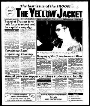 Primary view of object titled 'The Yellow Jacket (Brownwood, Tex.), Vol. 90, No. 13, Ed. 1, Thursday, December 2, 1999'.