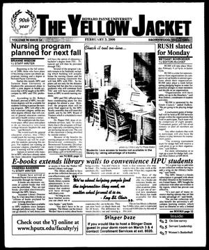 Primary view of object titled 'The Yellow Jacket (Brownwood, Tex.), Vol. 90, No. 14, Ed. 1, Thursday, February 3, 2000'.