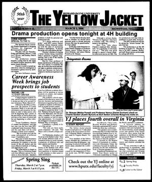 Primary view of object titled 'The Yellow Jacket (Brownwood, Tex.), Vol. 90, No. 18, Ed. 1, Thursday, March 2, 2000'.