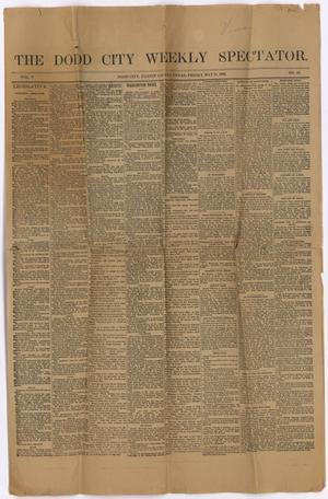 The Dodd City Weekly Spectator. (Dodd City, Tex.), Vol. 5, No. 16, Ed. 1 Friday, May 11, 1888