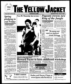 Primary view of object titled 'The Yellow Jacket (Brownwood, Tex.), Vol. 90, No. 20, Ed. 1, Thursday, March 30, 2000'.