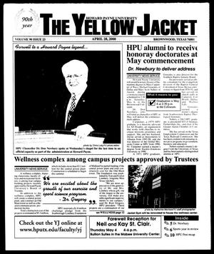 Primary view of object titled 'The Yellow Jacket (Brownwood, Tex.), Vol. 90, No. 23, Ed. 1, Friday, April 28, 2000'.