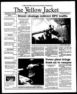 Primary view of object titled 'The Yellow Jacket (Brownwood, Tex.), Vol. 91, No. 2, Ed. 1, Thursday, September 14, 2000'.