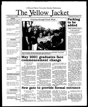 Primary view of object titled 'The Yellow Jacket (Brownwood, Tex.), Vol. 91, No. 14, Ed. 1, Thursday, February 8, 2001'.