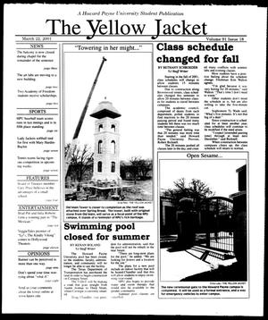 The Yellow Jacket (Brownwood, Tex.), Vol. 91, No. 18, Ed. 1, Thursday, March 22, 2001