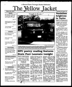 The Yellow Jacket (Brownwood, Tex.), Vol. 91, No. 19, Ed. 1, Thursday, March 29, 2001