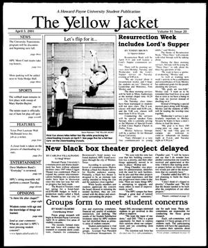 Primary view of object titled 'The Yellow Jacket (Brownwood, Tex.), Vol. 91, No. 20, Ed. 1, Thursday, April 5, 2001'.