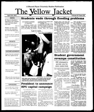 The Yellow Jacket (Brownwood, Tex.), Vol. 91, No. 22, Ed. 1, Thursday, April 26, 2001
