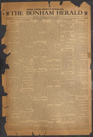 The Bonham Herald (Bonham, Tex.), Vol. 7, No. 100, Ed. 1 Thursday, August 16, 1934