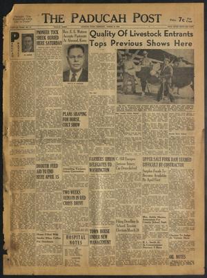 The Paducah Post (Paducah, Tex.), Vol. 46, No. 51, Ed. 1 Thursday, March 18, 1954