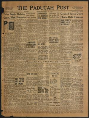 The Paducah Post (Paducah, Tex.), Vol. 47, No. 16, Ed. 1 Thursday, July 15, 1954