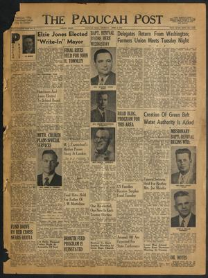 The Paducah Post (Paducah, Tex.), Vol. 47, No. 2, Ed. 1 Thursday, April 8, 1954