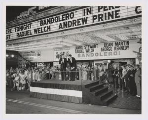 "Primary view of object titled '[World premiere of ""Bandolero"" at the Majestic Theatre]'."