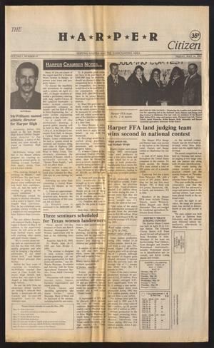 Primary view of The Harper Citizen (Harper, Tex.), Vol. 1, No. 41, Ed. 1 Friday, May 14, 1993