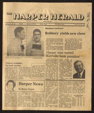 Primary view of object titled 'The Harper Herald (Harper, Tex.), Vol. 61, No. 26, Ed. 1 Friday, June 28, 1985'.