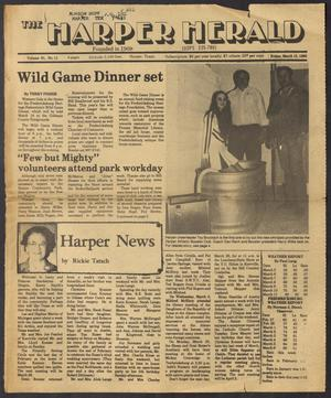 Primary view of object titled 'The Harper Herald (Harper, Tex.), Vol. 61, No. 11, Ed. 1 Friday, March 15, 1985'.
