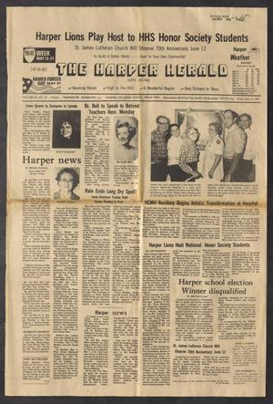 Primary view of object titled 'The Harper Herald (Harper, Tex.), Vol. 68, No. 19, Ed. 1 Friday, May 13, 1983'.