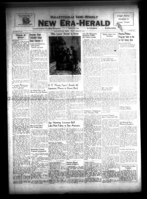 Primary view of Hallettsville Semi-Weekly New Era-Herald (Hallettsville, Tex.), Vol. 69, No. 40, Ed. 1 Friday, March 27, 1942