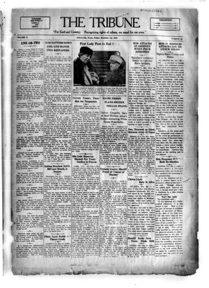 Primary view of object titled 'The Tribune (Hallettsville, Tex.), Vol. 2, No. 95, Ed. 1 Friday, December 1, 1933'.