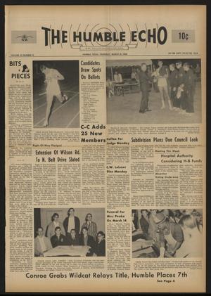The Humble Echo (Humble, Tex.), Vol. 29, No. 12, Ed. 1 Thursday, March 21, 1968