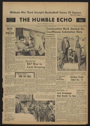 The Humble Echo (Humble, Tex.), Vol. 22, No. 49, Ed. 1 Thursday, December 5, 1963