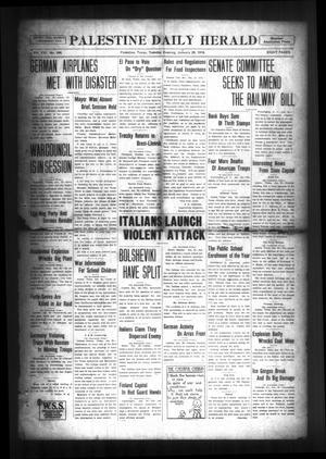 Palestine Daily Herald (Palestine, Tex), Vol. 16, No. 244, Ed. 1 Tuesday, January 29, 1918